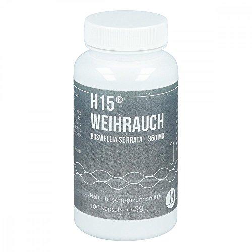 H 15 Weihrauch Kapseln 350 mg, 100 St. Kapseln