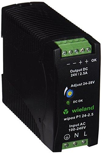 Preisvergleich Produktbild Wieland 81.000.6120.0 WIPOS P1 24 V-2.5 a
