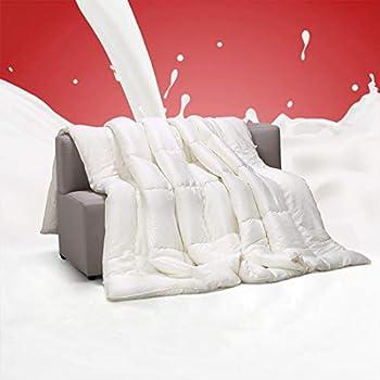Ingalik All-Season Cotton Comforter Smooth Cooling Bed