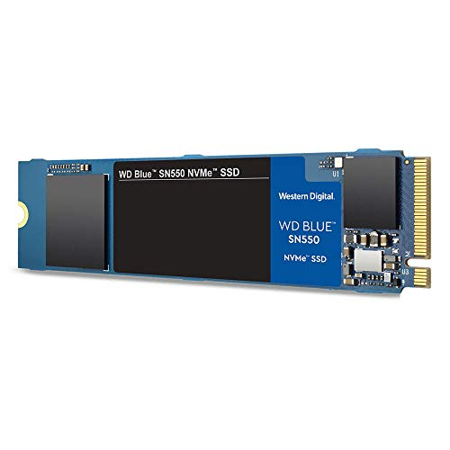 WD Blue SN550 NVMe SSD WDBA3V0010BNC - Disque SSD - 1 to - Interne - M.2 2280 - PCI Express 3.0 x4 (NVMe)