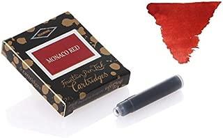 Diamine Ink Cartridges 6's Small International Size Monaco Red