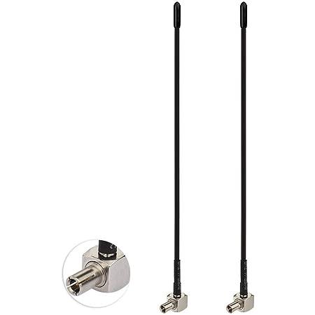 Bingfu 4G LTE Antena TS9 (2-Paquete) de Látigo Suave Externo 3dBi para Orange Vodafone Movistar Netgear Huawei Módem USB Enrutador Punto de Acceso de ...