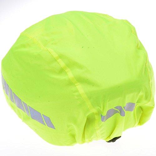 Filmer 46.850 Regenschutz Helm / Überzug für Fahrradhelm / Reithelm etc. – neongelb – reflektierend - 3