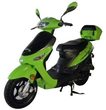 Tao Tao Brand Street Legal Gas Powered Scooter Model # ATM-50 Red...