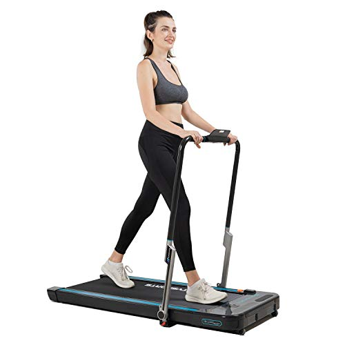 41w7udE19jL. SS500  - CITYSPORTS The 440W Foldable Treadmill with Controllable Armrest and Remote Control, Bluetooth Built-in Speaker, Maximum…