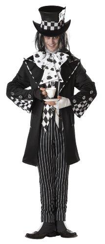 California Costumes 01101 - Disfraz de Sombrerero loco oscuro para hombre talla L