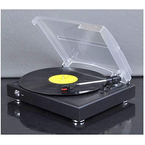 CS-LJ Gramófono de 3 velocidades USB del Disco de Vinilo