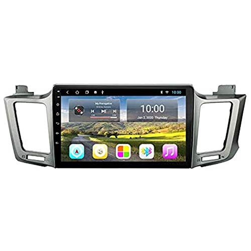 YLCCC GPS Navigation Coche estéreo para 2013-2016 Toyota Head Unit Sat Nav Internet Internet Music Player Web Surfing Audio con la Pantalla táctil de Bluetooth MirrorLink,4 Core 4g+WiFi: 1+32gb