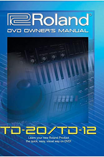 Roland TD-20 TD-12 DVD Video Training Tutorial Help