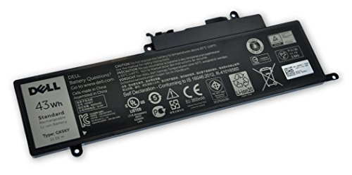 Dell Inspiron 11 3147, 3148, 3158, 3157, 3153, 3152, Inspiron 13 7347, 7348, 7352, 7359, 7353, Inspiron 15 7558, 7568 43WHr 3-Cell Primary Battery 92CNT 4K8YH 0WF28 GK5KY