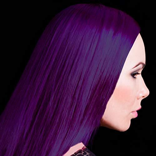 Manic Panic Deep Purple Dream Hair Dye – Classic High Voltage - Semi-Permanent Hair Color - Blackberry, Purple Shade - For Dark & Light Hair – Vegan, PPD & Ammonia-Free - For Coloring Hair
