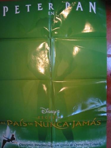 POSTER FILM - CARTEL CINE : Peter Pan en regreso al País de Nunca Jamás