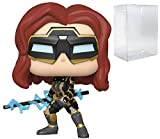 Black Widow #630 Pop Games: Avengers Gamerverse Vinyl Figure (Bundled with EcoTEK Plastic Protector to Protect Display Box)