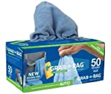 Grab-A-Rag | Reusable Detail Microfiber Rags - 50 Count - With Patented self dispensing box