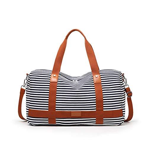 hongbanlemp Travel Bag Portable Lightweight Short-distance Travel Luggage Bag Sports Gym Bag Weekend Duffel Bag