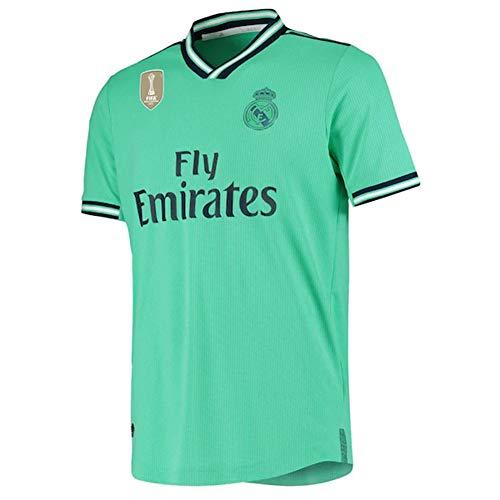 Zena KN Camiseta de fútbol Personalizado Camisetas Futbol Personalizada Nombre Número Camisa para Hombres Jóvenes niños UCL Badge (3ª equipación, XXL)