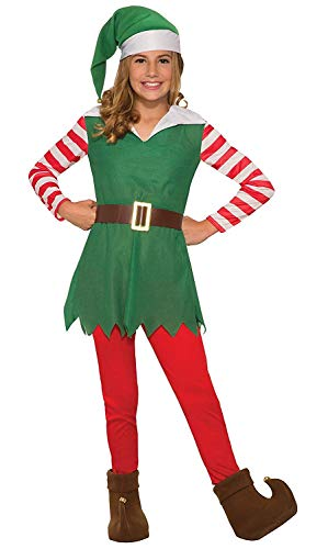 Forum Novelties Girl's Santa's Helper Costume, Small