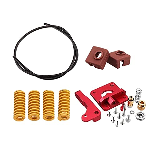 Apricot blossom Upgraded Long Distance Remote Metal Extruder Spring MK10 Silicone Case Kit Fit For Creality CR-10 Ender-3 3D Printer