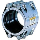 Morsetto in acciaio inox modello Rep-D L80 DN90 100-104 millimetri con anello di fissaggio,...