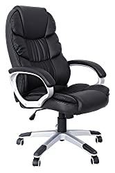 SONGMICS office chair executive chair swivel chair computer chair SGS EN12520 seat height adjustment office chair upholstery, OBG24B