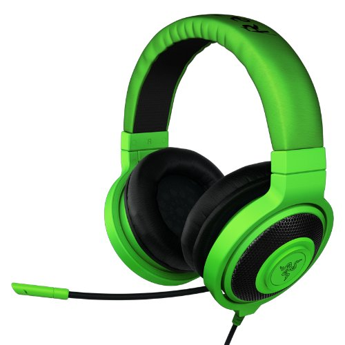 Razer Kraken 2014 PRO Over Ear PC and Music Headset - Green