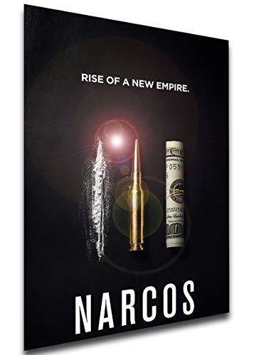 Instabuy Poster - SA0034 - Playbill - TV Series - Narcos - Variant 17 Manifesto 70x50