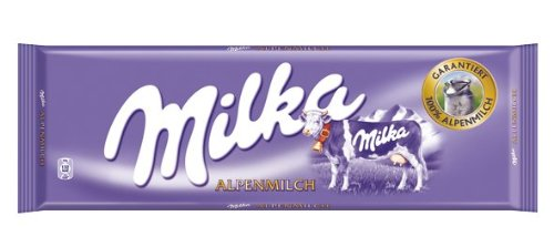 Milka Alpenmilch, Tafelschokolade, 300g, 2er Pack (2 x 300 g)