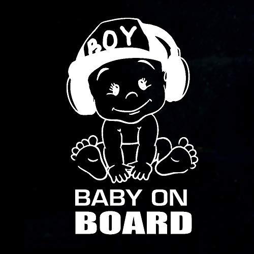 Pegatinas creativas para bebés a bordo del coche (color 2)