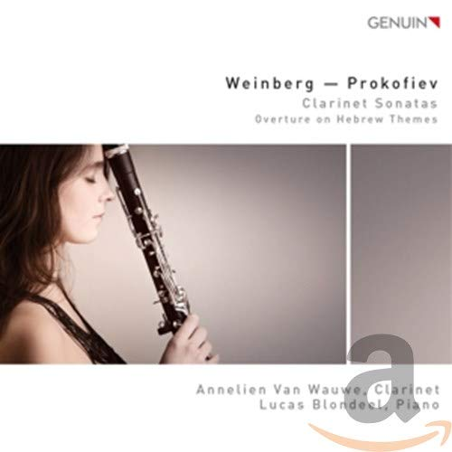 Weinberg/Prokofieff: Klarinettensonaten / Overture on Hebrew Themes