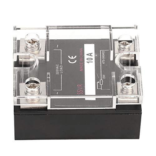 Weikeya Equipo eléctrico, plástico y Aluminio Hecho 30 x 45 x 58mm 220Vac regulador de Voltaje