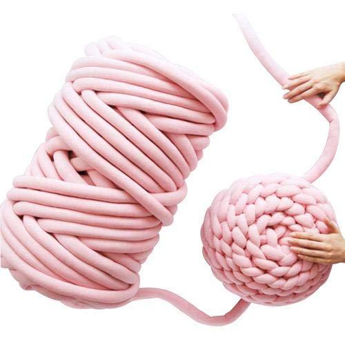 Chunky Yarn Kerndecke Linie Super Grobstrickwolle Wolle Roving Häkeln DIY Perfekt für Hobbies,Kunst & Handwerk Nähen,Handgestrickte Werke