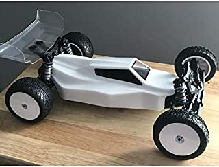 Raw Speed RC RS-1-1/10 Buggy Body - (AE B6.1/B6.1D) Light Weight Clear 780103LW