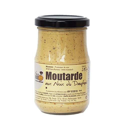 NICONOIX くるみマスタード 210g  <フランス産> くるみ農園のくるみパウダーを配合したマスタード Walnut mustard