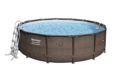Bestway Kit piscina redonda Power Steel...