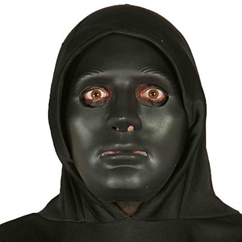 Vestiti e Maschere- Máscara Negra, Color Negro, Talla única, 7_10006918