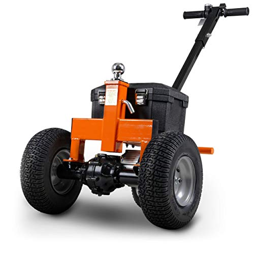 SuperHandy Trailer Dolly Electric Power 3600LBS Max Trailer Weight, 600LBS Max Tongue Weight, DC 24V...