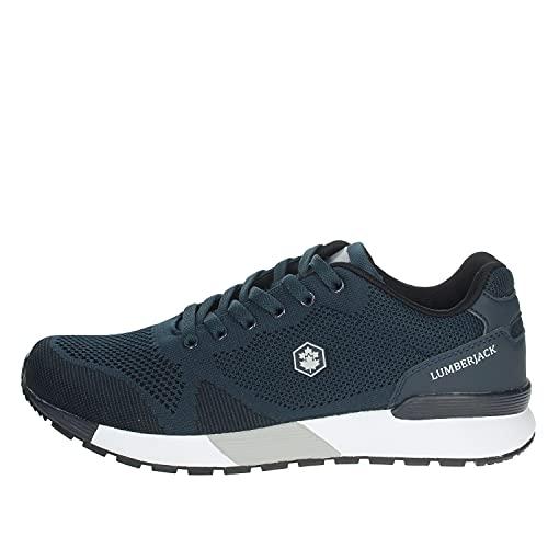 Lumberjack Vendor, Sneaker Uomo, Blu (Navy Blue/Grey M0049), 45 EU
