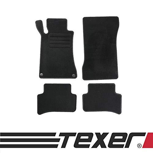 CARMAT TEXER Textil Fußmatten Passend für Mercedes-Benz C-Klasse W203 Bj. 2000-2007 Basic
