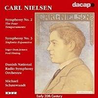 Carl Nielsen: Symphony No. 2, Op. 16 The Four Temperaments / Symphony No. 3, Op. 27 Sinfonia Espansiva - Danish National Radio Symphony Orchestra / Michael Schonwandt (2006-08-01)