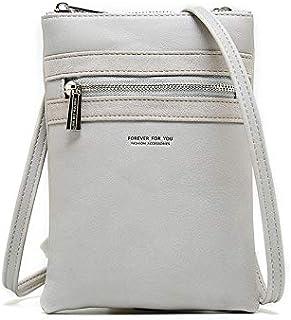 Houfung Piccola borsa a tracolla, da donna, per cellulare, portafoglio, borsetta da viaggio, piccola borsa a tracolla