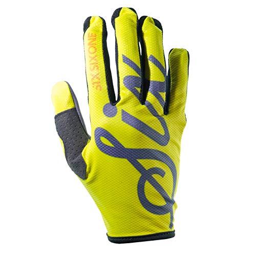 SixSixOne Kinder Handschuhe Comp Lines, Neon Gelb, M, 7203-0