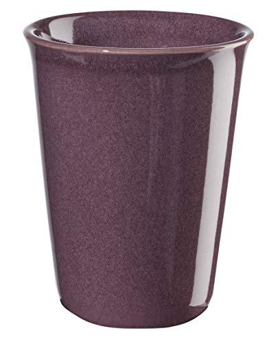 ASA 44041120 Becher - Tasse - Cappuccino - COPPETTA - Keramik - lila - Ø 8 cm - Höhe 10,5 cm - 0,25 l