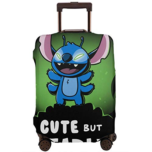 Luggage Cover Stitch and G-Root Travel Suitcase Protector Zipper Suitcase Cover Washable Fashion Printing Luggage Cover Zipper Travel Suitcase Protector