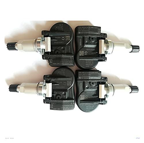NERR YULUBAIHUO 4pcs TPMS 707355-10 36106856209 70735510 433MHz Sensor de Monitor de presión de neumáticos Ajuste para BMW X5 F15 F85 x2 x1 F48 x6 F16 F86
