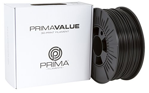 Prima Filaments PV-PLA-285-0750-DG PrimaValue 3D-Print Filament, 2.85 mm, 1 kg Spool, Dark Grey