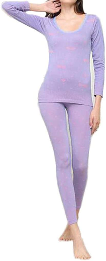 LUCACO Womens Thermal Underwear Set Ultra Warm Lightweight Soft Baselayer