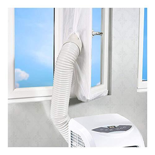 Wuudi Fensterabdichtung für mobile Klimageräte Wäschetrockner,560CM Klimaanlage Fensterabdichtung Hot Airstop Klimaanlage