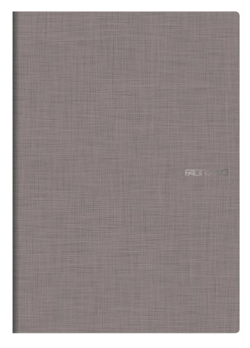 Fabriano EcoQua, Carta per Notebook (A4, 85g/ m², 5 mm), Grigio