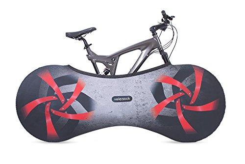 VELOSOCK Housse d'intérieur pour vélo - Firebird – La Meilleure Solution pour Garder Votre intérieur Propre -Free – Compatible avec 99% des vélos Adultes