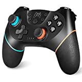 Controller Compatible with Switch, YCCTEAM Controller Remote Control Gamepad Joystick Compatible with Switch/Switch Lite Console, Built-in Gyro Axis Turbo and Vibration Joypad